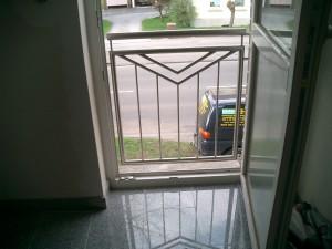 Geländer Bodentiefe Fenster