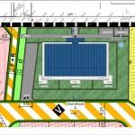 Lageplan Block A