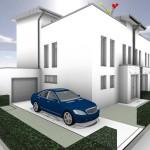Einfahrt Haus 1