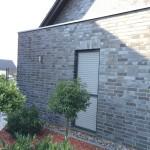 Fassade mit Klinkerriemchen