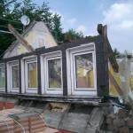 Rückbau Dachgeschoß
